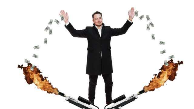 特斯拉破产预警!每分钟烧6500美元