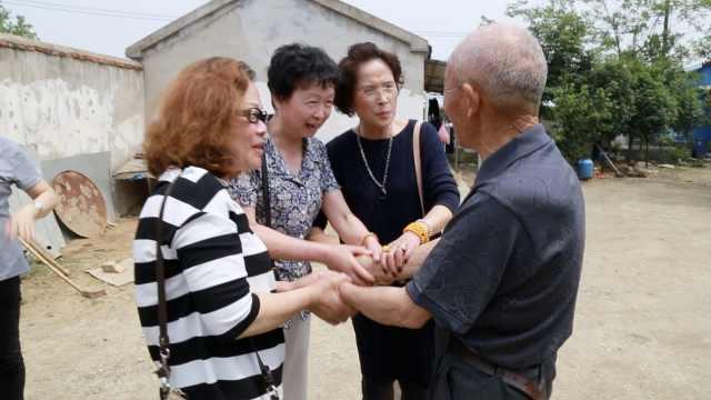 阔别40年上海知青回村:这是第2故乡