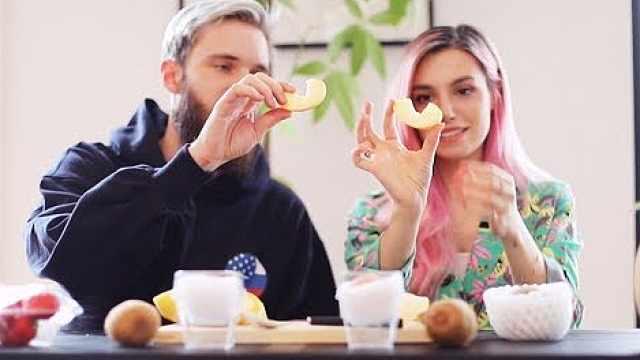 日本昂贵水果试吃,苹果30元一个!