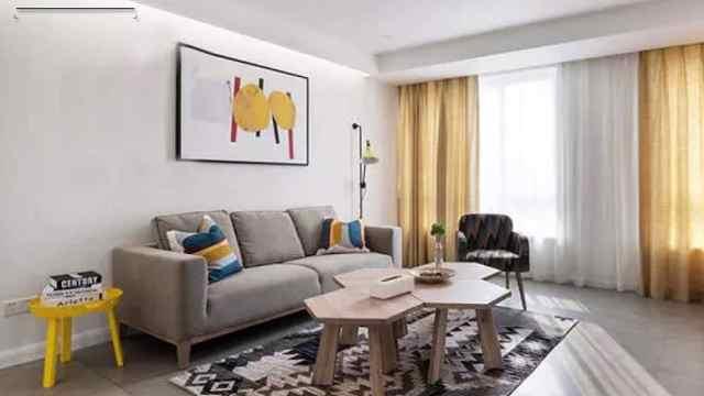 85平简约两居室,合理规划小户型!