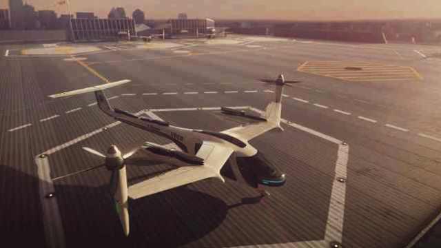 Uber展示飞行汽车样机:2023年起飞