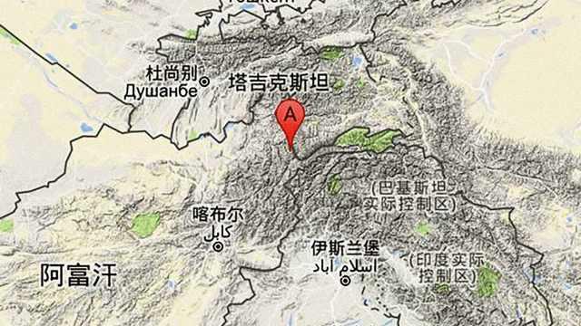 阿富汗强震,晃了周边三国接壤地