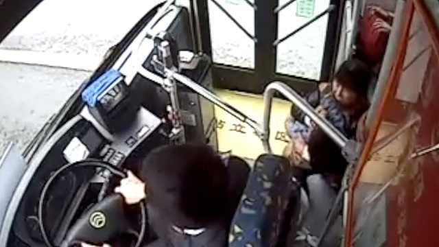 男童突然晕厥,公交司机3分钟送医