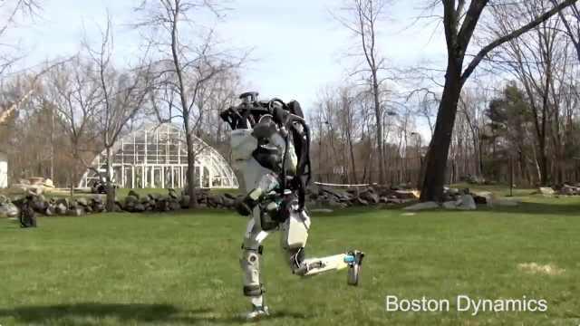 最牛机器人学会自由奔跑,放飞自我