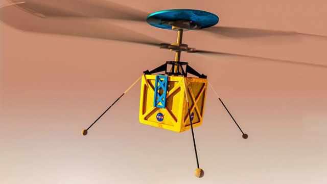 人类首次!NASA要让直升机在火星飞