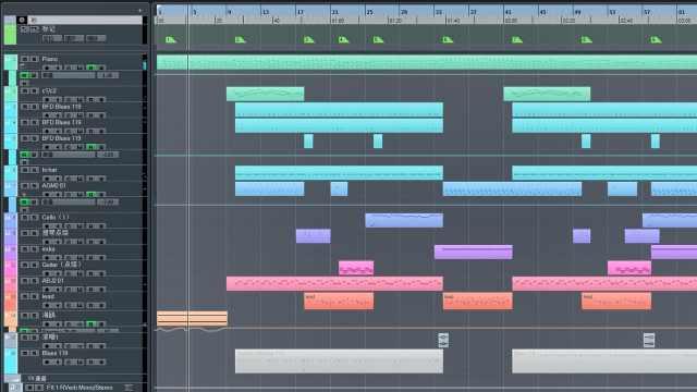 【编曲工程】一首非常夏日风的音乐
