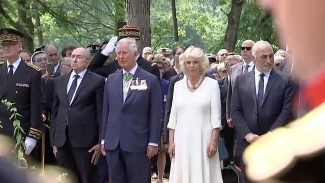 王位工作交接!查尔斯王子访问法国