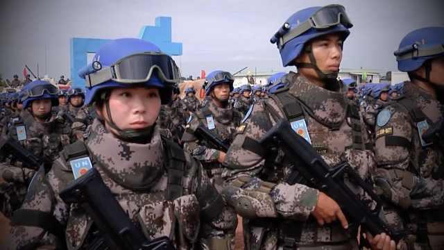 联合国专题短片,感谢中国维和部队