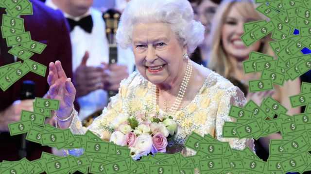 英国女王有多少钱:也就4.9亿美元