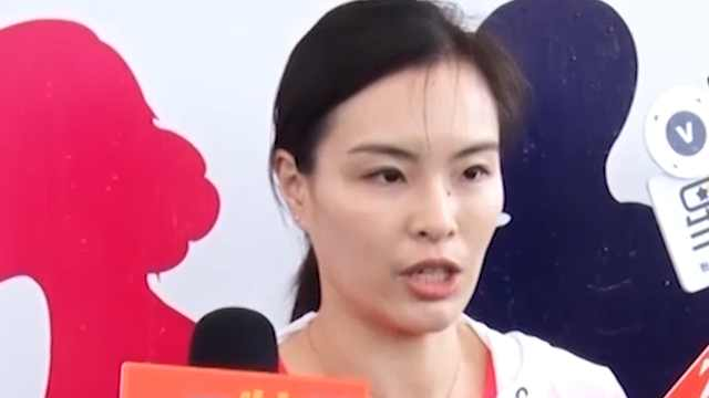 吴敏霞为跳水队应援,没考虑做教练