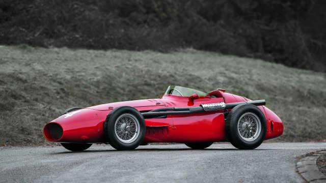 60年前的玛莎拉蒂F1赛车长这样