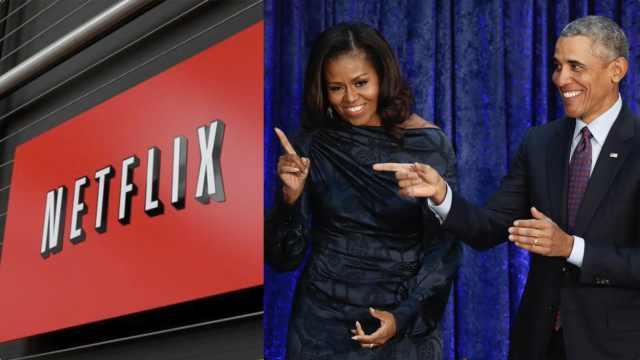 奥巴马夫妇签约Netflix,将本色出演