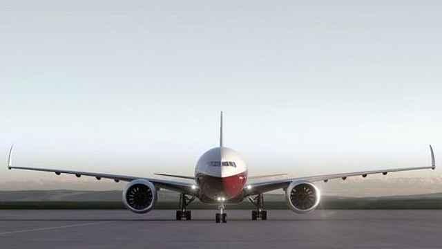 酷炫了!波音777X将采用可折叠机翼