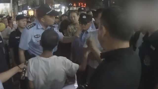 民警连轴工作脸变红,被冤酒后执法