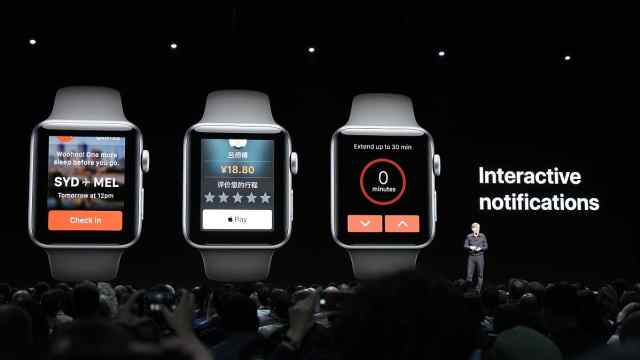 在现场:可对讲?苹果手表的新玩法