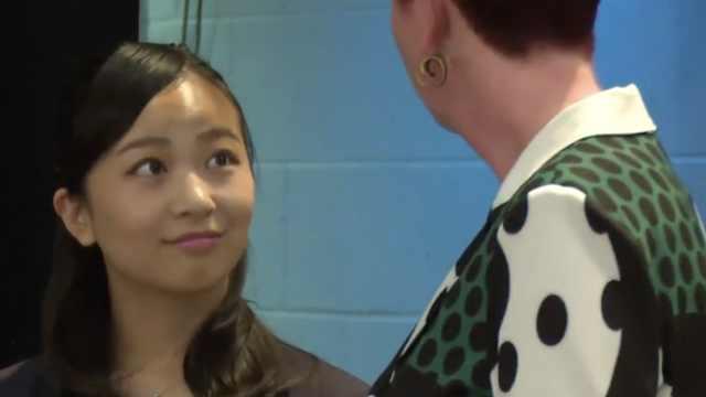 日本佳子公主留学归国,重回大四