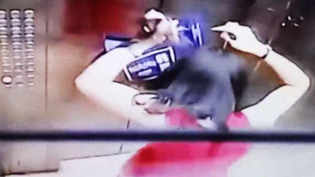 惊!电梯吊顶掉落,女子被砸头缝5针