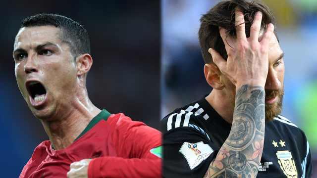 戴帽vs失点,梅罗之争世界杯见分晓?