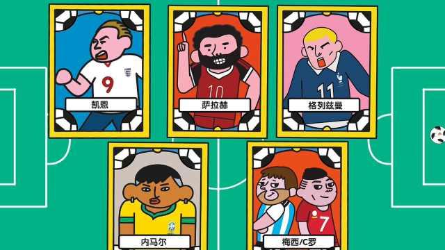 世界杯球迷指南之五大射手了解一下