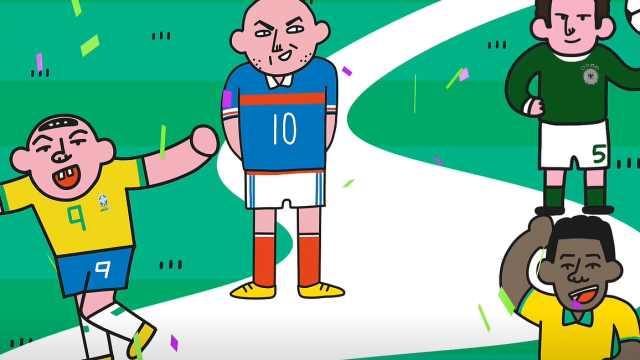 """世界杯史上最闪耀的几颗""""星"""""""