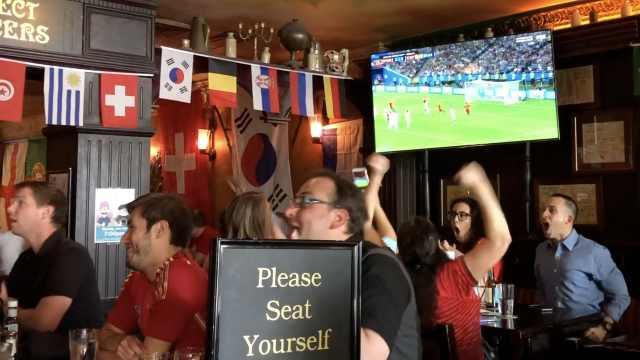 华盛顿酒吧延长营业:为世界杯尖叫