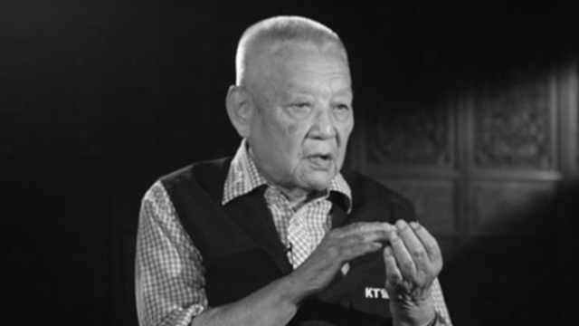 著名导演严寄洲逝世,享年101岁