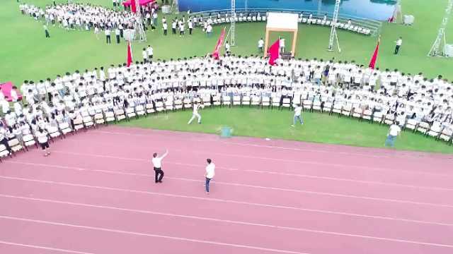 中南拍超长毕业照,千人同框长达2米
