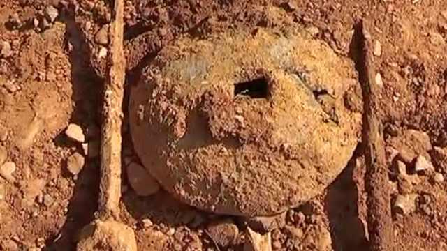 500年不分离!工地发现夫妻合葬古墓