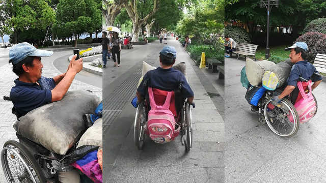 他高位截瘫,手摇轮椅走遍半个中国