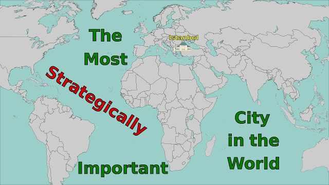 伊斯坦布尔:战略位置最重要的城市