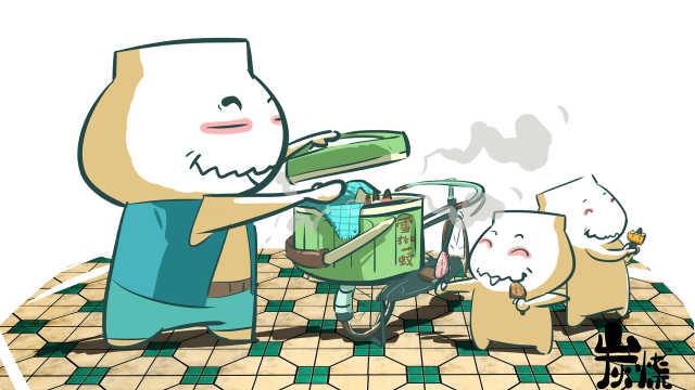他是吃货漫画家,画出舌尖上的广州
