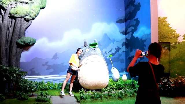 龙猫上映30年,吉卜力大展首秀上海