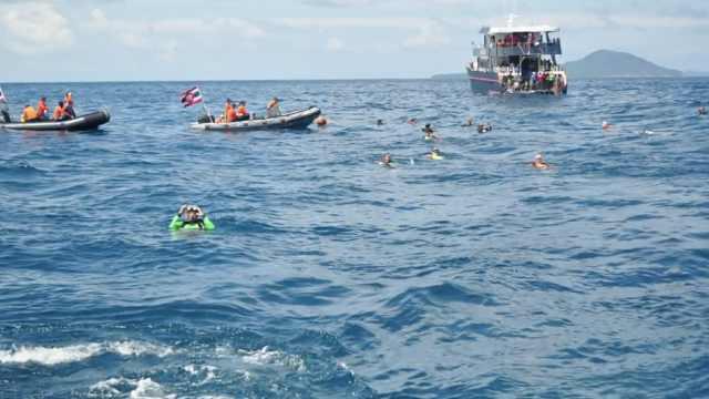 普吉岛沉船,水下救援视频曝光