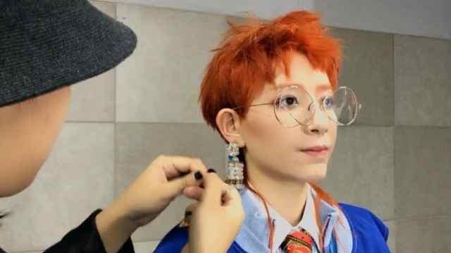 李斯丹妮在韩国拍MV的酷炫日常