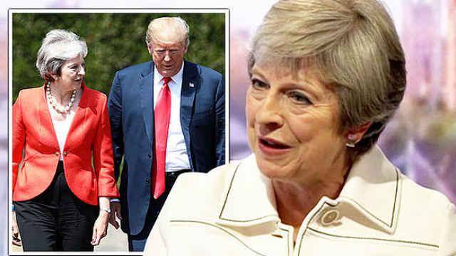 梅姨透露:川普让我就脱欧起诉欧盟