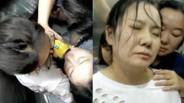 医院电梯故障致多人被困,有人晕倒
