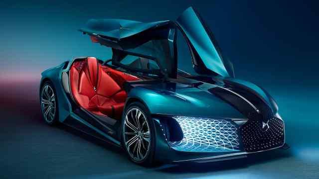 破传统不对称设计,DS电动概念车