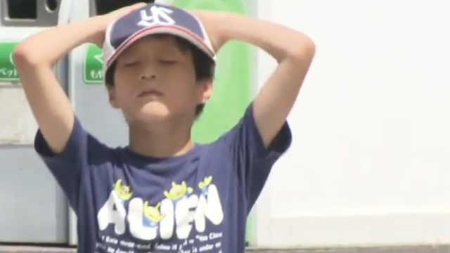 日本连日高温,仅东京就有38人死亡