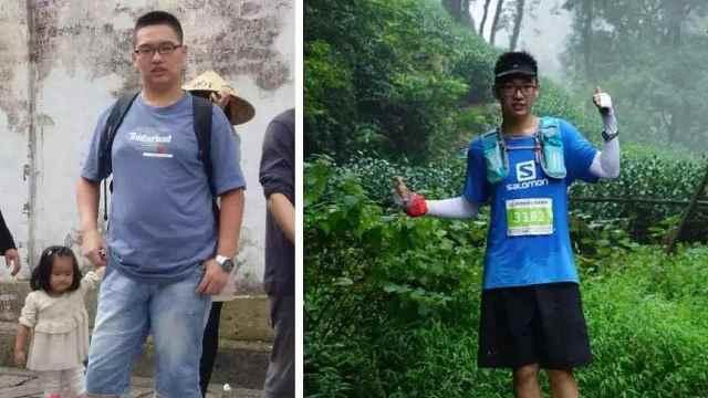 95后小伙跑步减肥50斤:感谢前女友