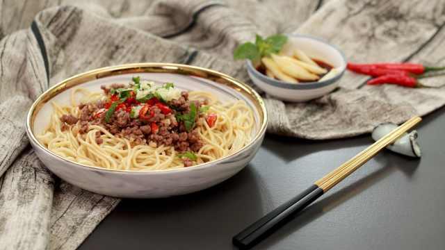 生椒牛肉面,好吃美味值得一试!