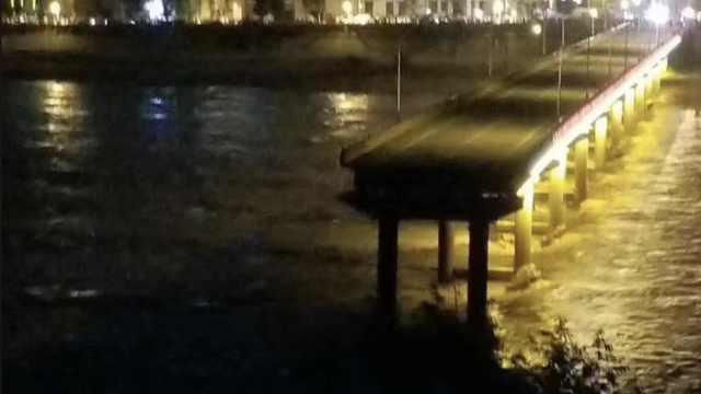 四川一大桥垮塌,曾被确定为4类危桥