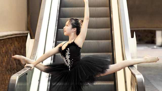 90后姑娘弃国企高薪,投身空中舞蹈