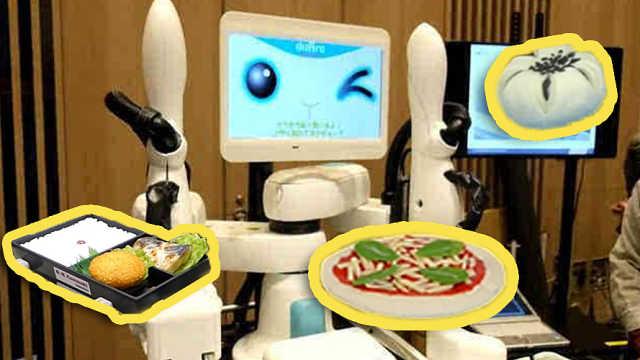 日本发明饭团机器人,还能做点心