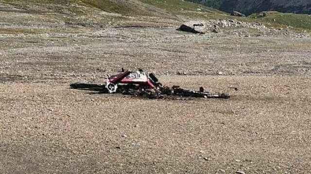 二战老式飞机瑞士坠毁,20人死亡