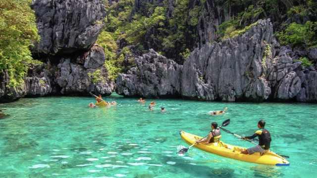 绝美!隐藏于悬崖后的菲律宾潟湖