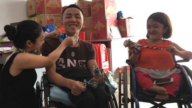 他带残障伙伴创业:我们都有梦想