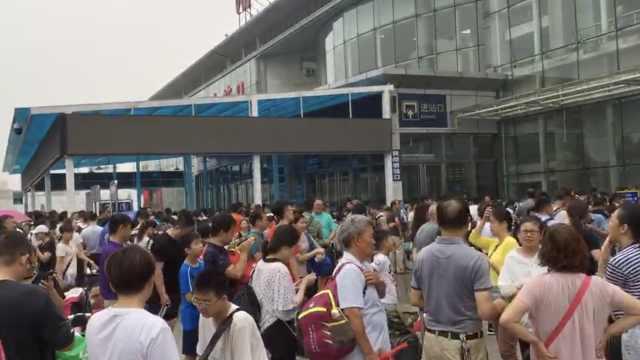 山东暴雨致高铁晚点,大量旅客滞留