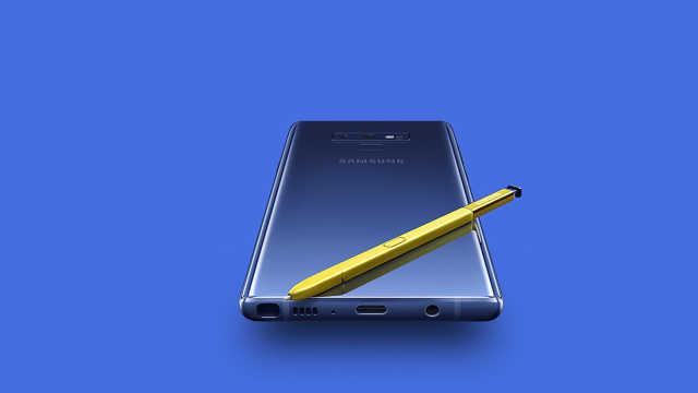 三星Note 9正式发布,S Pen是亮点