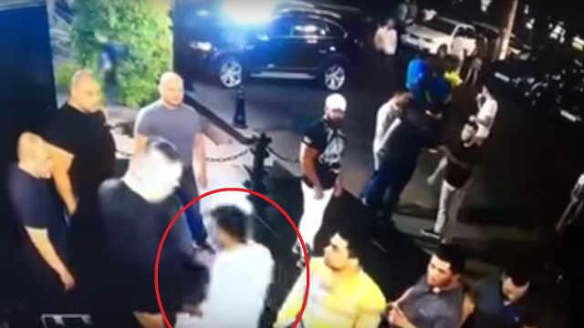 MMA选手与夜店保安斗殴,被刀捅死