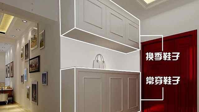 鞋柜尺寸怎么设计才合理?